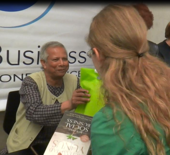 Kolours and Prof Yunus