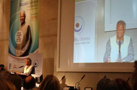 yunus social business conference 2013